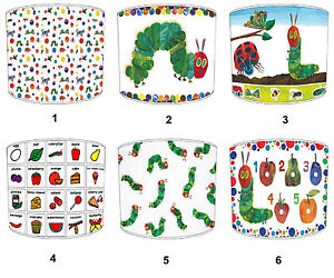 Very Hungry Caterpillar Lampshades Ideal To Match Bedding Duvets Curtains