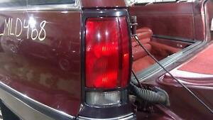 91-92 Oldsmobile Custom Cruiser Wagon Driver Left Tail Light Assembly OEM