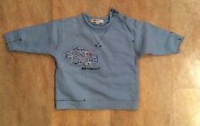 Baby Boy Dkny Light Blue Top, Size 3 Months