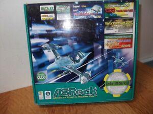 ASROCK CONROE 1333-D667 GUIDE MANUAL & ACCESSORIES, SEE DESC PLZ. BARGAIN START.