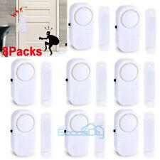 8 Packs Wireless Security Burglar Alarm Home Window Door System Magnetic Sensor