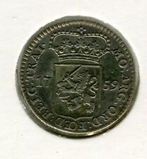 Niederlande  1/4 Gulden 1759 Utrecht in vz (R169)