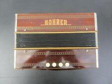 Kleines Akkordeon Knopfakkordeon Harmonika Hohner G