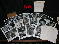 Star Wars: Return of the Jedi Press Kit - 16 Stills + Production Notes - 1983