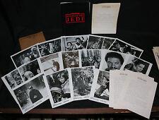 Star Wars: Return of the Jedi Press Kit - 16 Stills + Production Notes - 1983