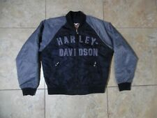 Harley Davidson 100th Anniversary Nylon Black Jacket USA Made Medium