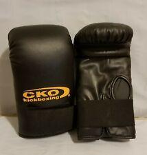 CKO Kickboxing Boxing Gloves Black Size M