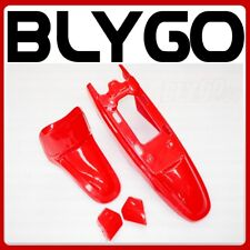 RED Plastic Fender Kit Body Cover Fairing Yamaha PW50 PY50 PEEWEE 50 PIT Bike