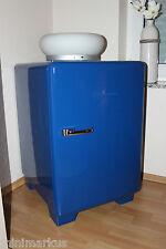 alter 50er Jahre Kühlschrank Bauknecht KS50N K5 - Restauriert !!!  Blau