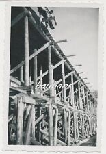 Foto Brückenbau-Soldaten-Brückenbau-Btl.145 (mot.)  2.WK (d392)