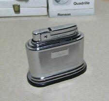 Silver Match Compound encendedor Sobremesa Lighter Pegaso vintage