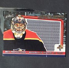 ROBERTO LUONGO  2003/04 Pacific Mcdonalds Net Protector No. 3  Florida Panthers