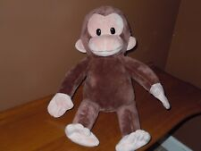 APPLAUSE CURIOUS GEORGE PLUSH Stuffed Animal Soft MONKEY Toy 16 Inches