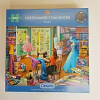 Gibsons 1000 Piece Jigsaw Puzzle The Dressmaker's Daughter G6261 - Box Damaged