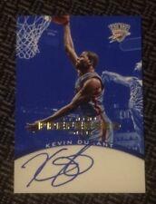 2012-13 Panini Preferred Blue KEVIN DURANT Autograph Auto #28/49 - Finals MVP