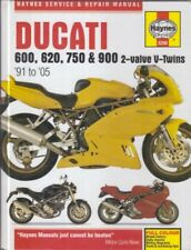 DUCATI 600SS 620S M600 M620 750SS M750 900SS 900SL M900  1991-2005 REPAIR MANUAL