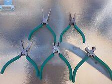 Set of 6 mini pliers