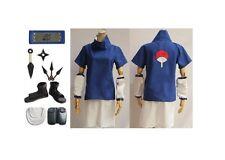 Naruto Uchiha Sasuke 2nd cosplay kostüm schuhe Props Whole Set