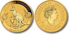 2020 Gold Kangaroo 1/4 oz Gold Coin Perth Mint #2
