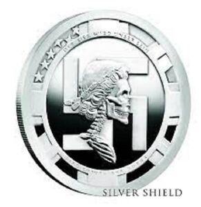 2018 Silver Shield 2 oz Nazi Bride Proof  SSG .999 Holohoax