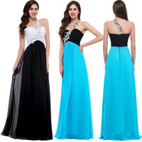 Grace Karin Women Long Evening Gown Wedding Formal Party Prom Dress UK Size 6-20