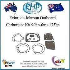 A Brand New Evinrude Johnson Outboard Carburetor Kit 90hp-thru-175hp # R 435442