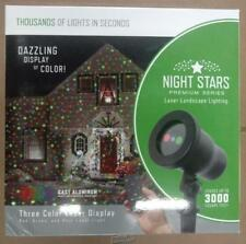 Viatek LL03-RGB-R Night Stars Red + Green + Blue Light Christmas House Projector