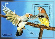 0093+ TIMBRE GUINEE  BLOC  OISEAUX    1996