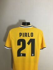 PIRLO #21 Juventus CL Away Football Shirt Jersey 2013/14 Season Size L BNWT
