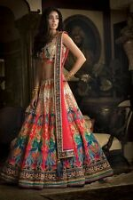 Indian Diwali & Navratri Costume Designer Saree Party Wear Women Lehenga Choli