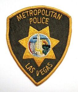 Vintage Metropolitan Police Las Vegas Patch - OBSOLETE!