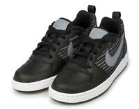Nike Borough Low, Nike scarpa bassa in pelle, Scarpa da ragazzo/a in pelle nera