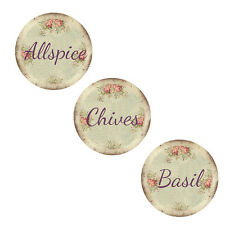 VinTaGe DiStreSseD RoSeS SpiCe LaBeLs ShaBby WaTerSliDe DeCals~Old WorLd ChaRm~