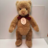 """Gund Limited Edition B. Altman Plush 16"""" Jointed Teddy Bear Vintage 1987 w Tag"""