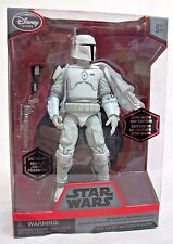 Disney Star Wars Boba Fett White Prototype Elite Die Cast Series Limited Edition