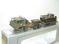 SOLIDO, Berliet T12 porte char avec un tank AMX 13, militaire en boite complet