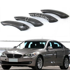 For BMW F12 F13 F08 M5 M6 F01 F06 F10 3K Dry Carbon Fiber Door Handle Cover Trim