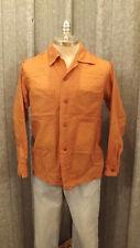 VTG 1950's E&W Sheer Nylon Loop  Collar Shirt sz M See-Thru Mod Rockabilly