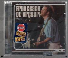 FRANCESCO DE GREGORI IL MONDO DI VOL.2 LINEATRE CD SIGILLATO!!!