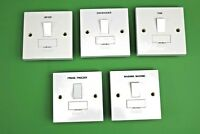 Click Polar 13A Engraved Spur Switch Dryer Dishwasher Fan Fridge Freezer Washing