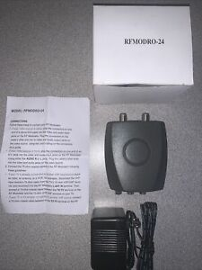 RF MODULATOR RFMODR0-24 A/V VIDEO DIRECTV DISH NETWORK CABLE TV NEW
