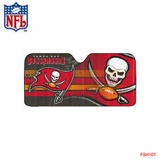 New NFL Tampa Bay Buccaneers Car Truck Windshield Folding Sun Shade Large Size