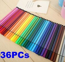 FD4285 36 Colors Washable Watercolor Pens Marker Painting Drawing Artist Tools