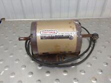 Craftsman Table Saw Motor 3/4 HP 3450 RPM Ball Bearing Dual Shaft EM-119