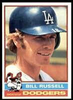 1976 Topps Baseball Nm-Mt Bill Russell Los Angeles Dodgers #22