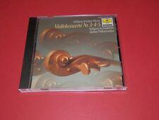 Mozart - Violinenkonzerte Nr.3, 4, 5 - Wolfgang Schneiderhan -- CD