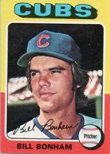 1975 Topps Mini #85 Bill Bonham Chicago Cubs