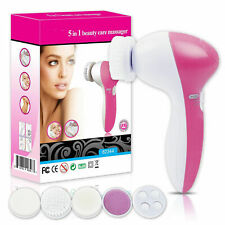 5 in 1 Electric Facial Cleansing Brush Deep Clean Skin Care Massage Exfoliator