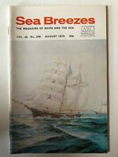 Sea Breezes Magazine Aug 1975 v49n356