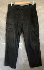 Mens DRAGGIN Jeans Lined Grey Size 34